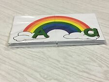 Rainbow - Uppercase Lowercase Match - Teaching Supplies Reading