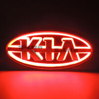 Sport Red 5D LED Car Front Grille Logo Badge Emblem Light For Kia Forte CERATO