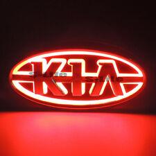 Sport Red 5D LED Car Front Grille Logo Badge Emblem Light For Kia Forte CERATO