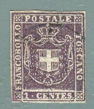 TUSCANY - 1 cent. (Sassone 17) used - Very fine (272530)