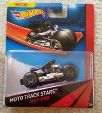 rare 2013 hot wheels moto track stars batman batpod vhtf