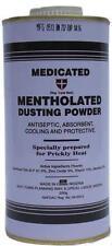 Espolvoreo medicamentosa mentholated polvo por Cussons