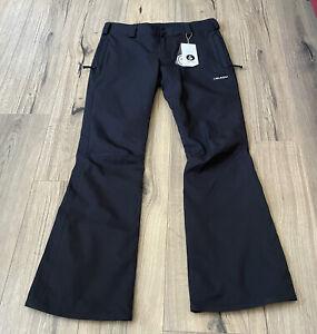 NEW Volcom Mens Klocker Tight Pants Size Small Black Waterproof 15,000