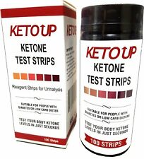 KETONE TEST STRIPS - BULLETPROOF  - KETO DIET  - 100ct.