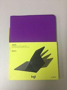 Logitech CREATE Protective Case + Any Angle for Apple iPad Pro 12.9 (Purple)