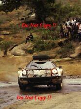 Sandro Munari Alitalia Lancia Stratos HF Safari Rally 1977 fotografía 1
