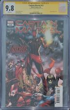 Captain Marvel #12 (Masked) CGC SS 9.8 signed by Mark Brooks