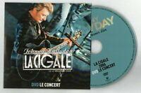 JOHNNY HALLYDAY - DVD LIVE A LA CIGALE 2006  ♦ COMME NEUF (18 TITRES) ♦
