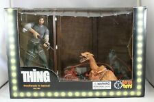 The Thing, MacReady in Kennel Box Set, Now Playing Presents, 2006 SOTA Toys RARE