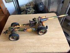 "German 8.8 antiaircraft gun c1935/39 21"" long Hausser Elastolin Lineol"