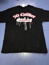 50 Caliber London Hardcore Shirt Large Madball NYHC Agnostic Front Stigmata