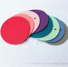 1PC Silicone Doming Mat Epoxy Resin Insulation Pad Round Tray DIY Craft Tools