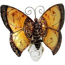 Metall Figur - Nachtleuchte Schmetterling - Nachtlampe - Lampe - Schmetterlinge