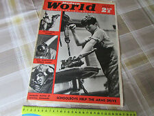 MODERN World ww2 Magazine 03/08/1940 80 Years of NAVY Progress Centre