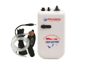 Köderfischpumpe Sauerstoffpumpe Luftpumpe Batterie und 12V Autostecker Paladin