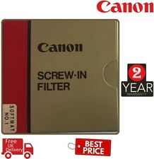 Canon 52mm softmat ligero efecto de enfoque suave Filtro 2591A002 (Reino Unido stock)