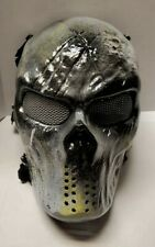 """""""Jolly Roger"""" Airsoft Mask with Mesh Usa Seller Custom Painted by American 1/1"""