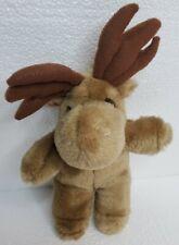 Moose Lover Reindeer Stocking Stuffer 9� Stuffed Animal Vintage 1987 Brown