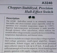 3 Stück A3240ELT Choper Stabilized Precision Hall-Effect Switch (M1542)