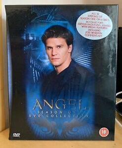 ANGEL SEASON ONE DVD COLLECTION DVD BOX SET GENUINE UK ORIGINAL EXCELLENT