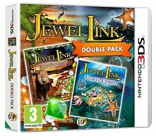 Jewel Link Safari Quest and Atlantic Quest For UK / EU 3DS (New & Sealed)