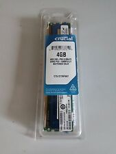Crucial 4GB DDR2 PC2 - 5300 CT51272AF667 Halo con búfer completo