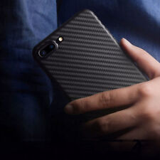 Luxury Ultra Thin Carbon Fiber PP Matte Case Cover for Apple iPhone X 8 7 Plus