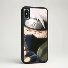 Kakashi Hatake Naruto Anime Soft Silicone Phone Case Cover for iPhone Samsung