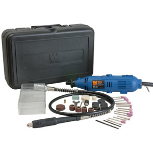 WEN 2305 Rotary Tool Kit With Flex Shaft Dremel 100-Piece Accessories Multi Use