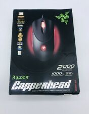 Razer Copperhead Anarchy Red 2000 DPI Laser Gaming Mouse RZ01