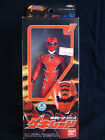 Bandai 2007 Power Rangers Sentai Jungle Fury Gekiranger Red Vinyl Figure Japan