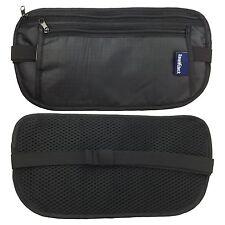 Travel Passport Waist Pouch Security Bag Money Belt Secure Ticket & Card Wallet