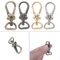 Bag Clip Flower Clasp Handle Lobster Swivel Trigger Snap Hook Key Ring Keychain
