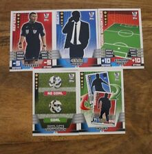 Verzamelkaarten: sport 5 X TACTIC CARDS MATCH ATTAX  2014/15  FULL SET.
