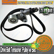 Drive Belt Tensioner For Nissan Patrol GU Y61 ZD30DDTi CRD 3.0L 4cyl 2007+on