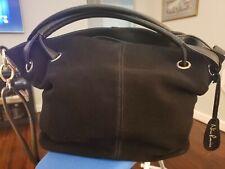Nico Louise Women Real Suede Leather Shoulder Bag Female Leisure hobo black