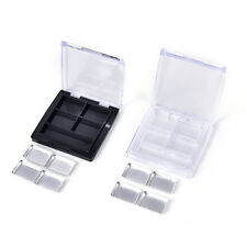 Empty 4 Square Grids Eyeshadow Lipstick Powder Box Cosmetic Packing+Palette WK