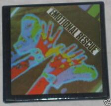 "Rolling Stones ""Emotional Rescue"" Album Pin 2"" x 2"""