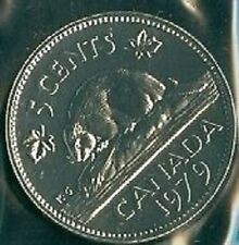 1979-PL Proof-Like Nickel 5 Five Cent '79 Canada/Canadian BU Coin Un-Circulated