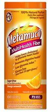Metamucil Smooth Texture Sugar-Free Orange 72 Each