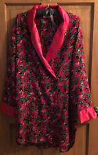 VICTORIA'S SECRET VINTAGE SLEEPSHIRT GOWN NIGHTGOWN M MEDIUM L COVER UP ROBE
