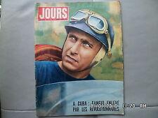 JOUR DE FRANCE N°173 08/03/1958 FANGIO enlevé à Cuba   J65