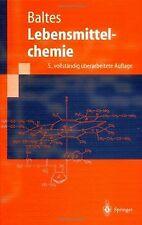 Lebensmittelchemie (Springer-Lehrbuch) von Baltes, Werner   Buch   Zustand gut
