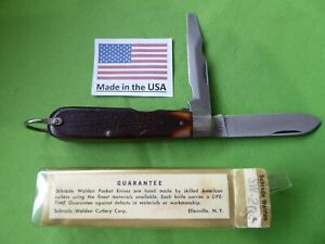 Schrade USA made 204 Open Stock Electrician's Knife (TL-29) in Viewpac.