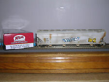 Atlas #2-281 G.E.Railcar Acf 5701 C.F.Hopper Car #57064 Weath.w/Grafiti H.O.Ga.