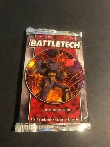 BATTLETECH Sealed TCG/TCG Booster Pack-Wizards of the coast 15 cards-New