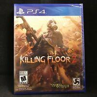 Killing Floor 2 (Playstation 4) BRAND NEW / Physical Copy / Region Free