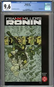 Ronin #2 CGC 9.6 NM+ WHITE PAGES