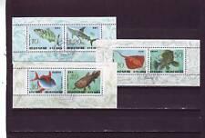 A112-corée-SGN3247-MSN3252 nh/cto 1993 poissons - 3 x mm