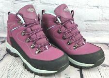 Northwest E7328 Texas Womens Waterproof Hiking Walking Boot Raspberry Blue UK 6